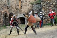 Na vlastní kůži středověkem - Cornštejn 2013